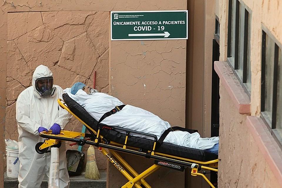 В Мексике коронавирусом заразились 1 003 253 человека