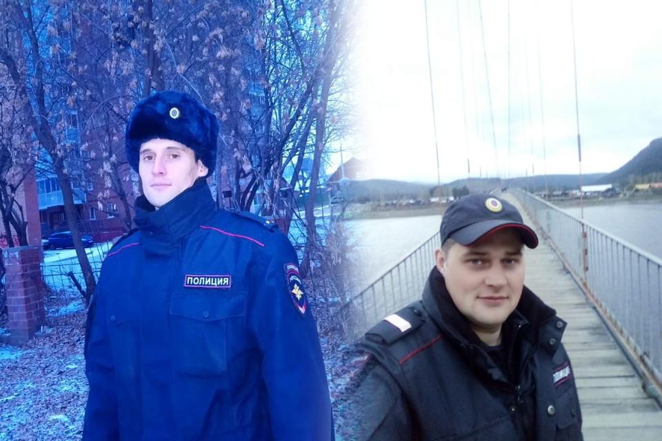 Алексея Зяблов (слева) и Дмитрий Говорин за пять минут сумели задержать преступника и спасти пять человек из горящего дома. Фото: личный архив