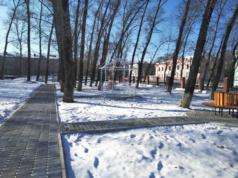 В рамках программы, к примеру, приобразился городской парк в Райчихинске. Фото: amurobl.ru