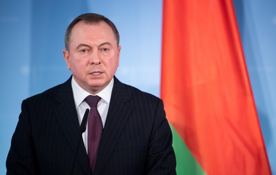 Владимир Макей сообщил, что Минск прекратил работу с ЕС по вопросу прав человека