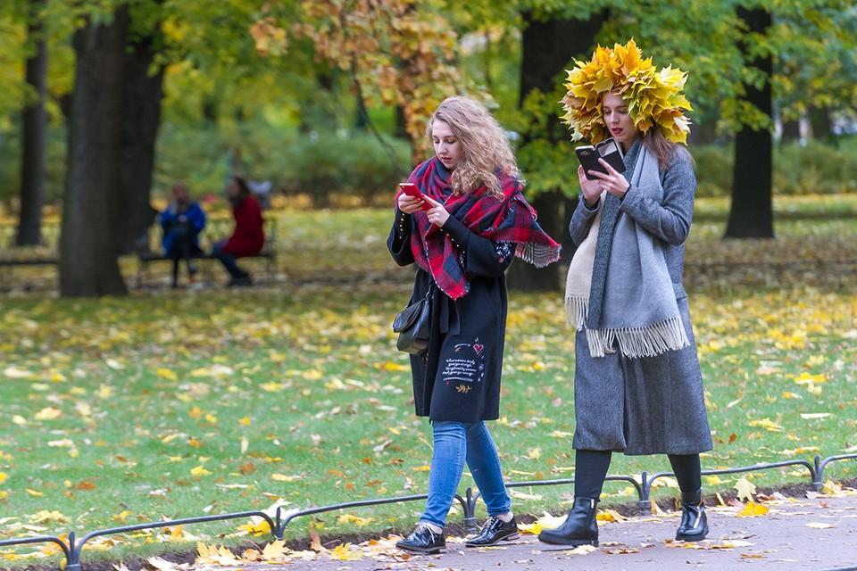 Осень этого года стала одной из самых теплых за историю метеонаблюдений в Санкт-Петербурге.
