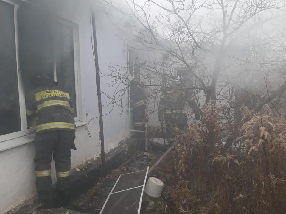 В Тульской области случился третий пожар за утро: в Щекинском районе сгорел дом и погиб человек