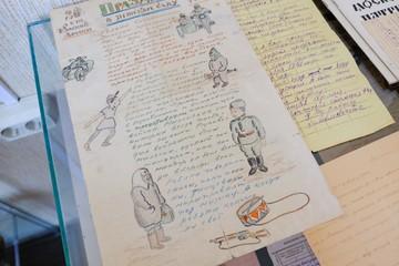 Уникальное фронтовое письмо внука Достоевского показали в Александро-Невской лавре