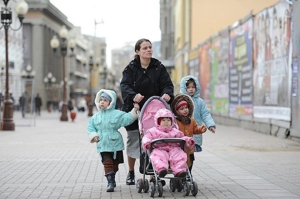 Для женщин, родивших третьего ребенка, предложили ввести досрочную пенсию