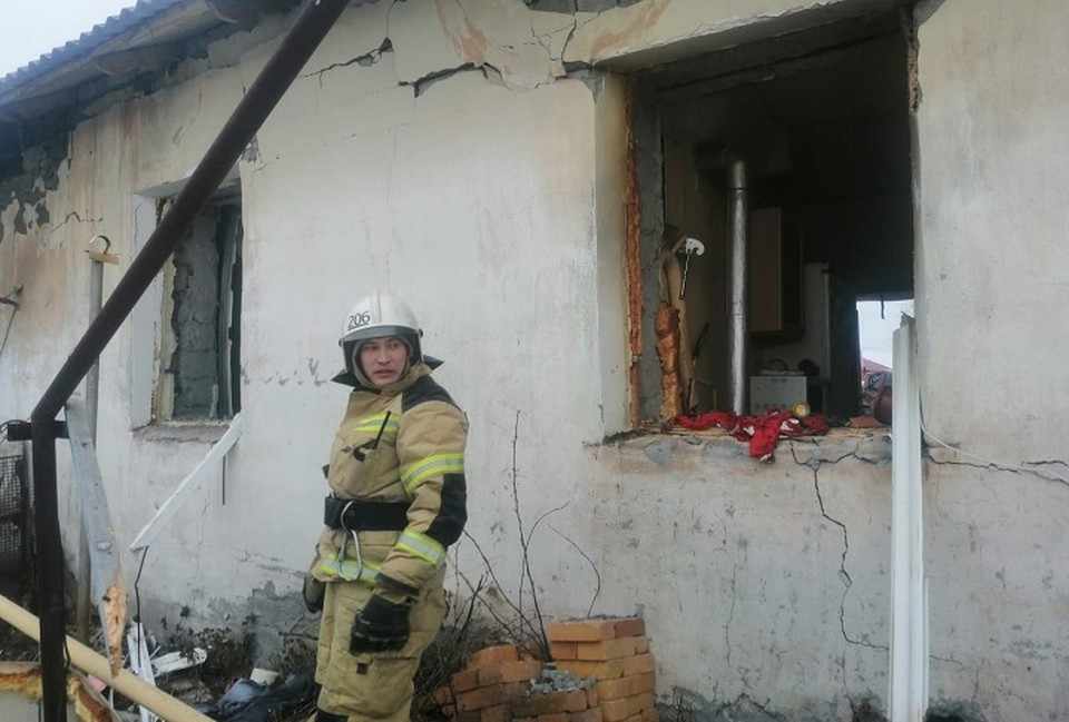 В доме выбило стекла. Фото: прокуратура Свердловской области