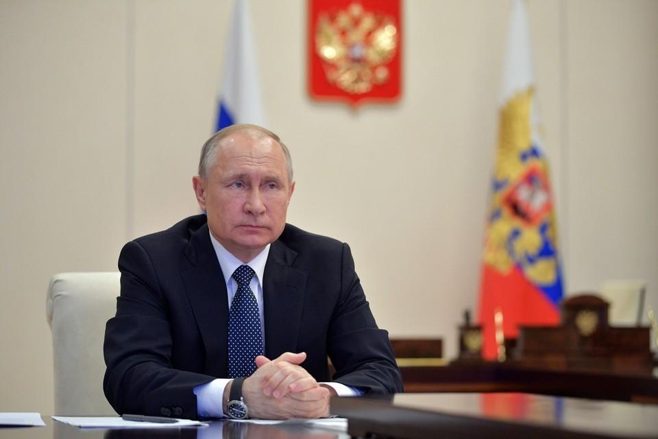 Путин впервые показал журналистам комнату отдыха в своей резиденции