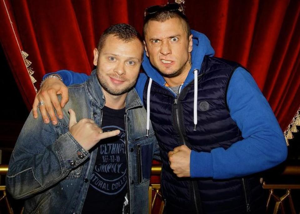 Илья Васильев подружился с Прилучным на съемках сериала «Преступление».