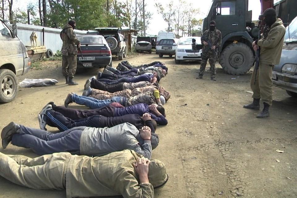 Задержание нелегальных скупщиков браконьерских уловов