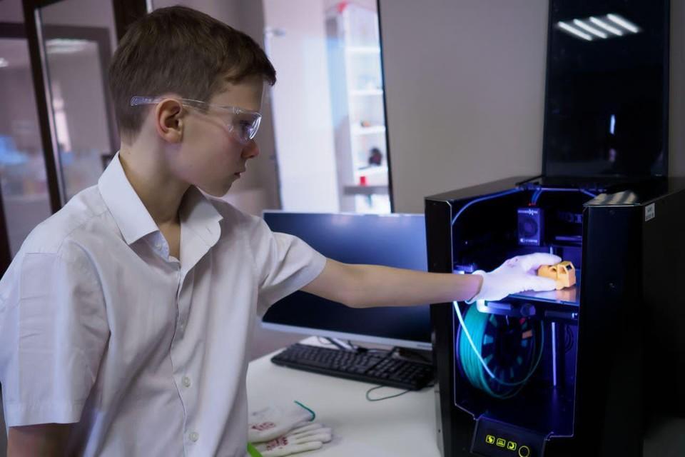 В Санкт-Петербурге открылся центр цифровых технологий для школьников