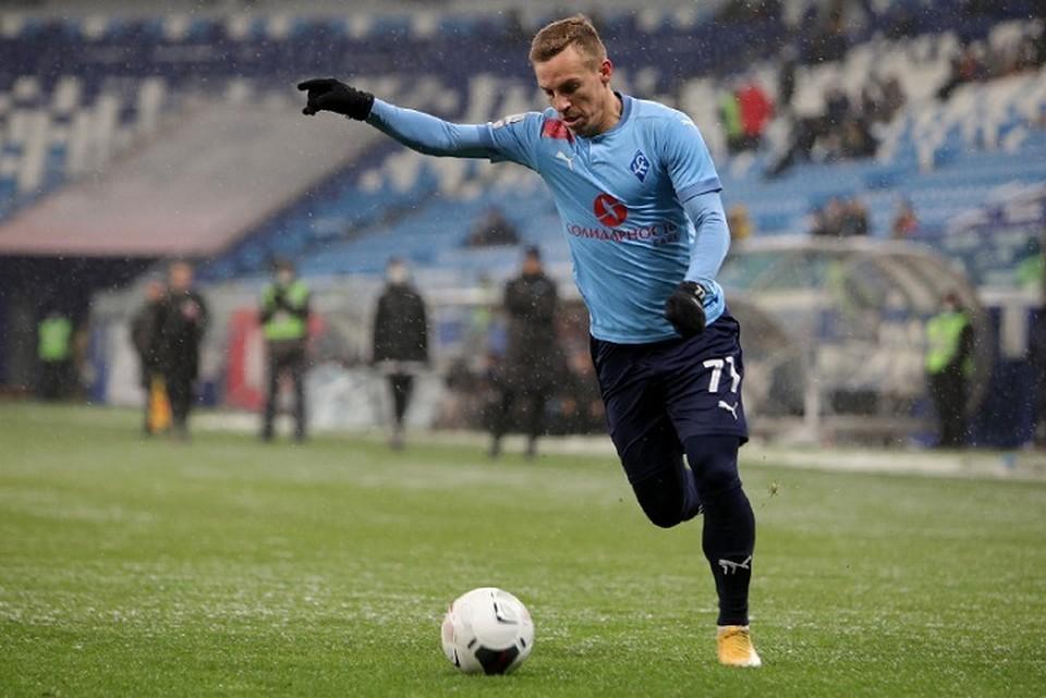 Дмитрий Кабутов отдал две голевые передачи