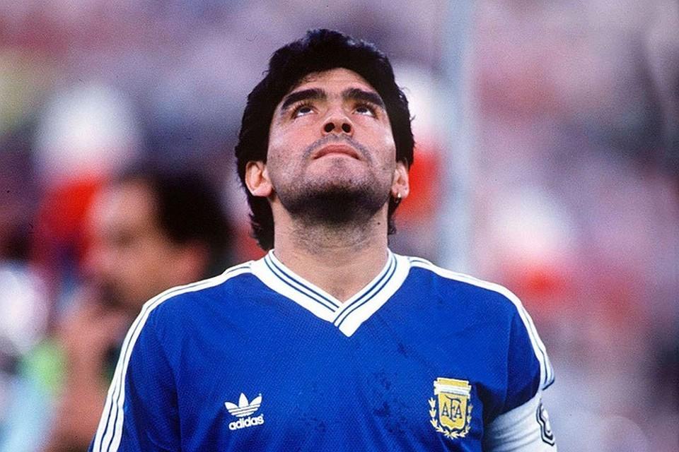 Умер легенда мирового футбола Диего Армандо Марадона