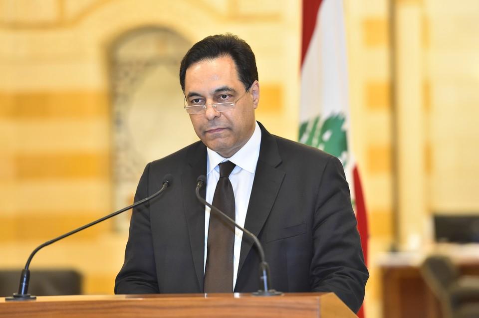Премьер-министр Ливана Хасан Дияб