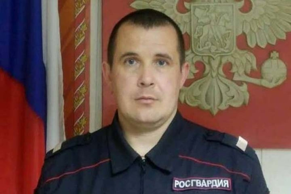 Евгений Потапов (фото: Росгвардия)