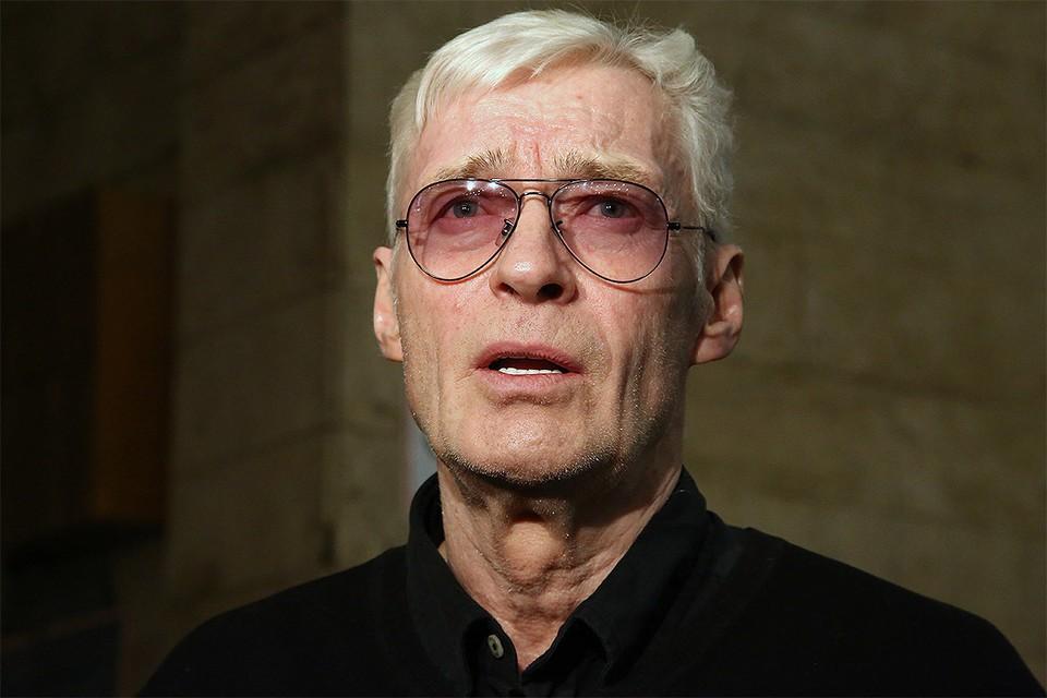 Актер Борис Щербаков.