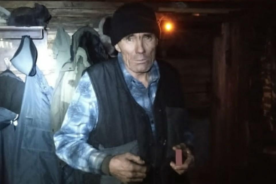 За три дня в тайге Александр даже ничего не обморозил. Фото: ГУ МВД России по Иркутской области