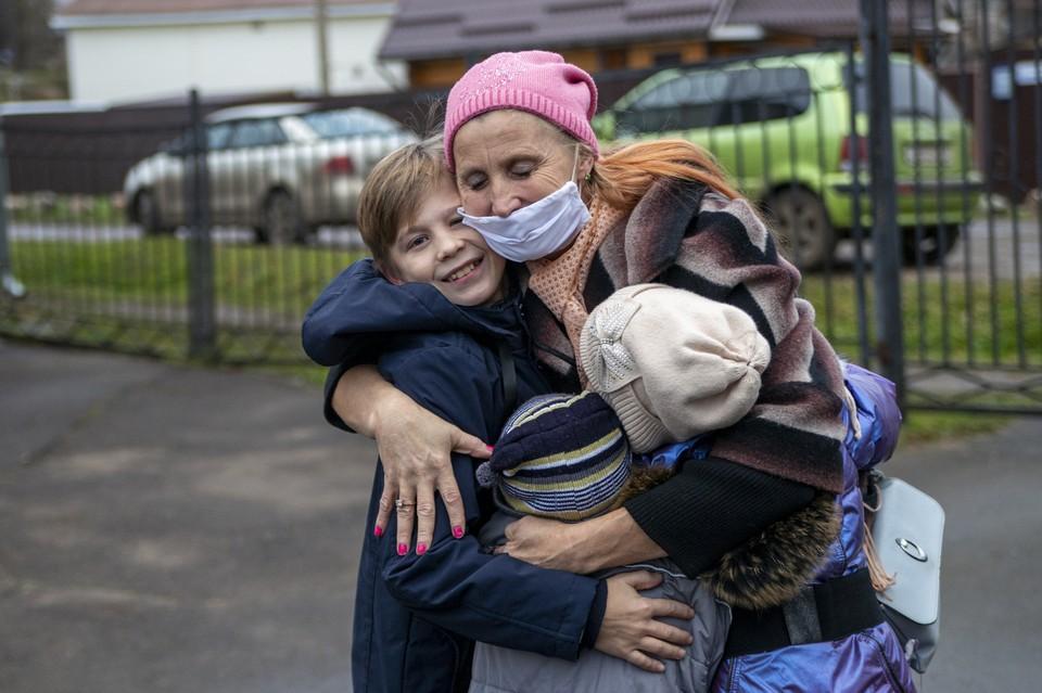 "Вернуть детей Надежде помог фонд ""Константа"". Фото: БФ ""Константа"""