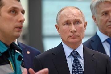 Путину показали крупнейший химкомбинат в России
