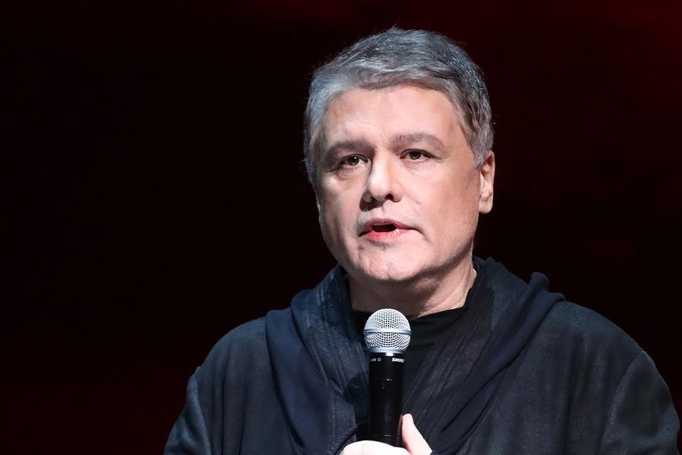 Ведущий программы «Однажды» Сергей Майоров. Фото: Сергей Карпухин/ТАСС