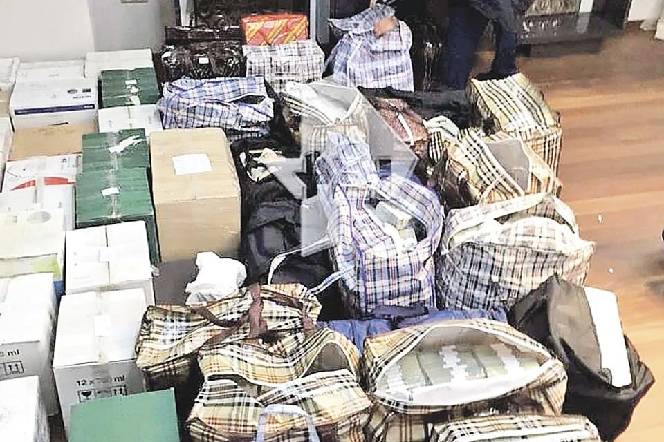 Склад денег полковника Захарченко оказался еще богаче. Фото: СК РФ