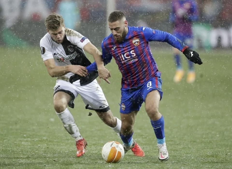 Виктор Гончаренко сделал заявление после выступления ЦСКА в Лиге Европы