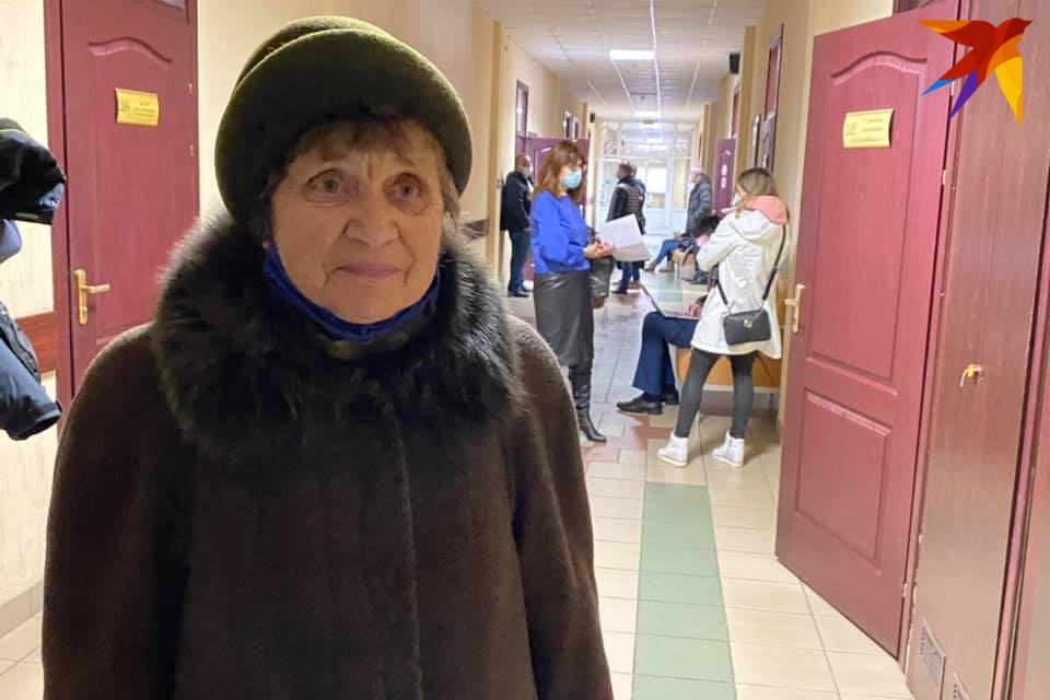 Пожилую минчанку Елизавету Бурсову обвиняют в нарушении проведения массовых мероприятия.