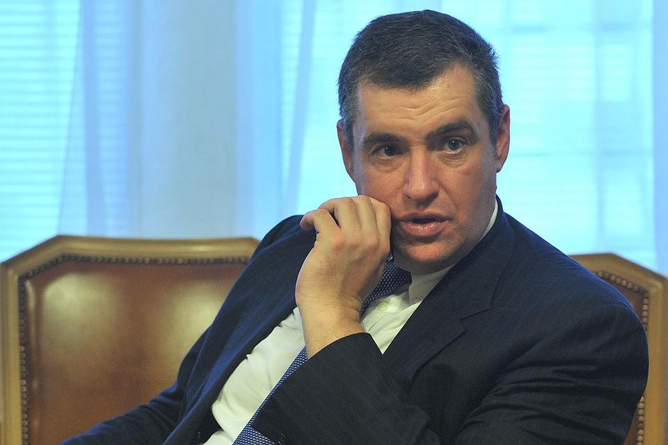 Председатель комитета Государственной Думы по международным делам Леонид Слуцкий.