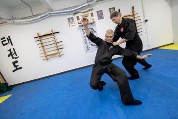 Люди в черном: как тренируют ниндзя в Москве