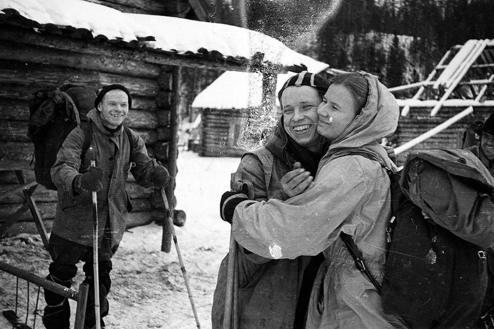 Туристы из группы Дятлова, таинственно погибшие зимой 1959 года.