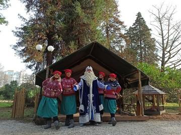 Дед Мороз, Снегурочка и олени переехали на юг