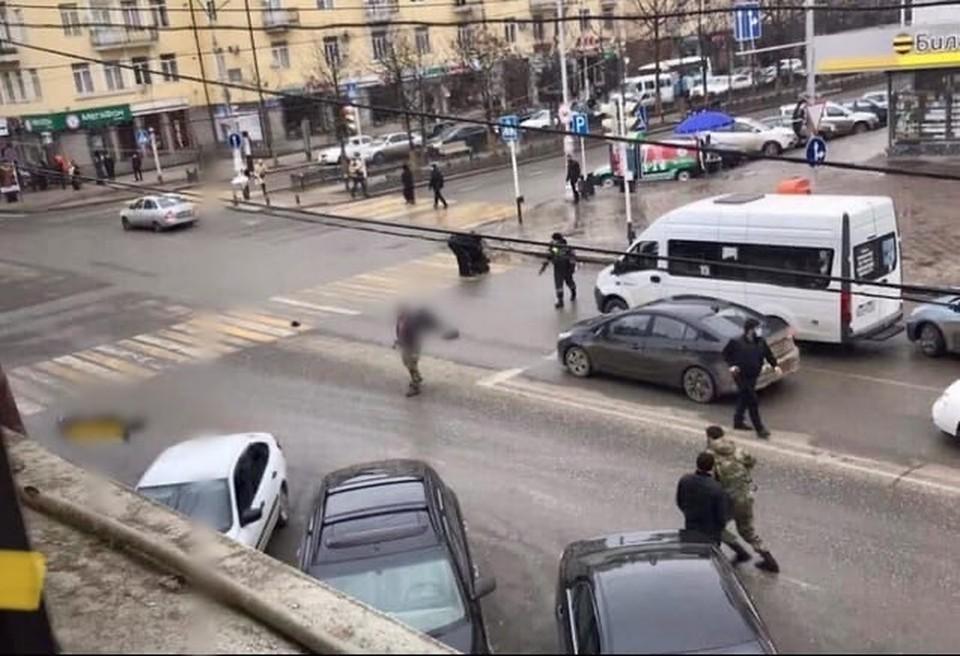 Инцидент произошел 28 декабря в чеченской столице