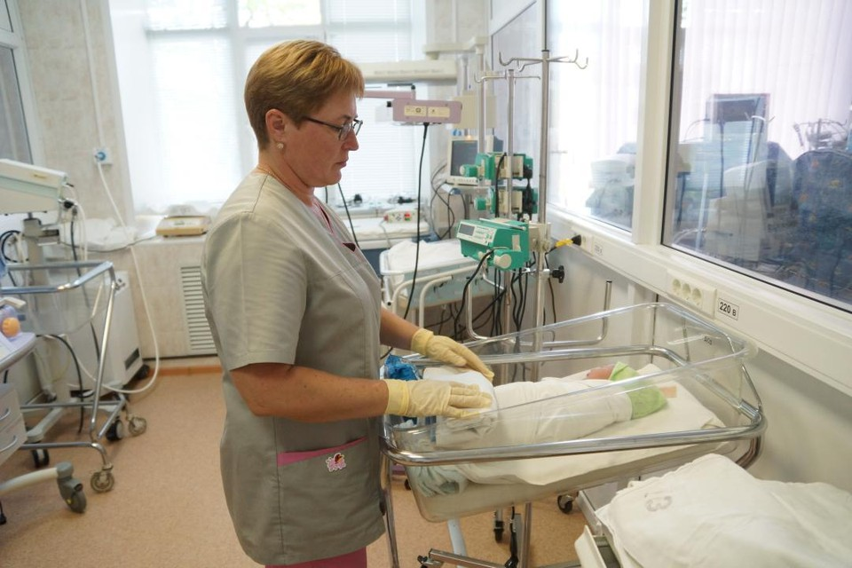 В родильных отделениях города Кирова в первый день 2021 года появились на свет 10 малышей – 7 мальчиков и 3 девочки.