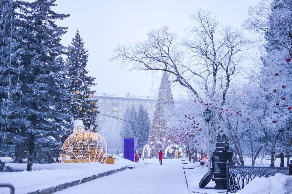 3 января будет морозным.