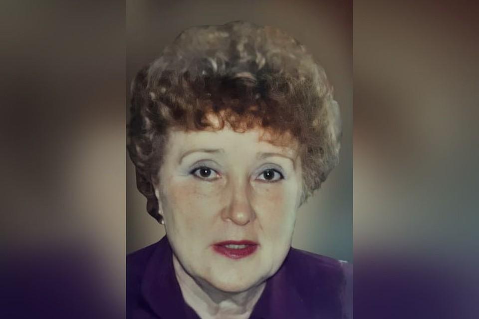 """Так женщина выглядела 20 лет назад. Фото:предоставлено новосибирским отрядом """"ЛизаАлерт"""""""