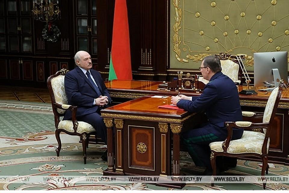 """Лукашенко сказал, что опасается того, что Беларусь могут """"перемолоть жернова"""" во время раздела мира. Фото: БелТА."""