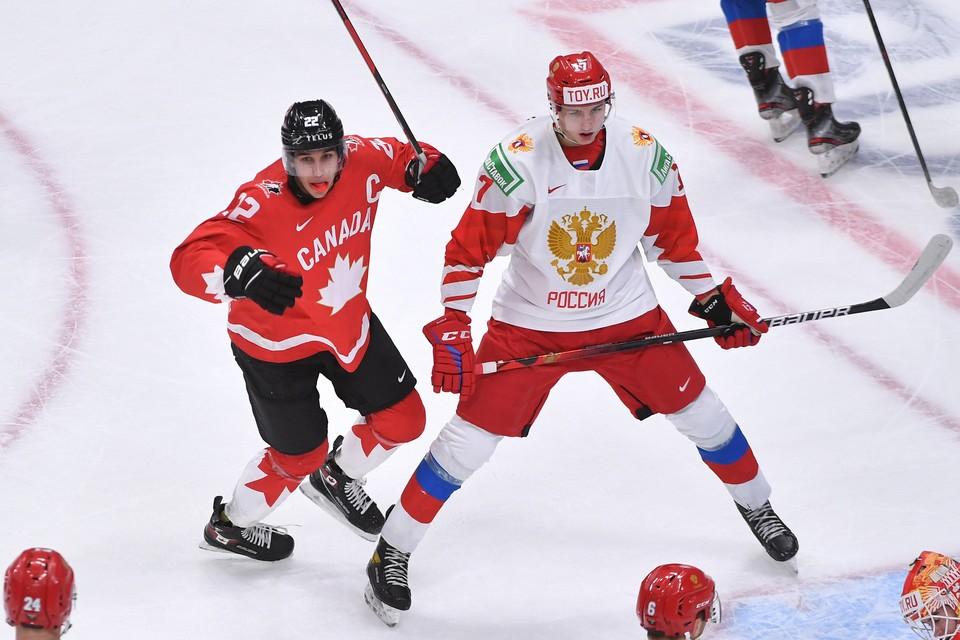 Сборная Канады разгромила российскую дружину со счетом 5:0.