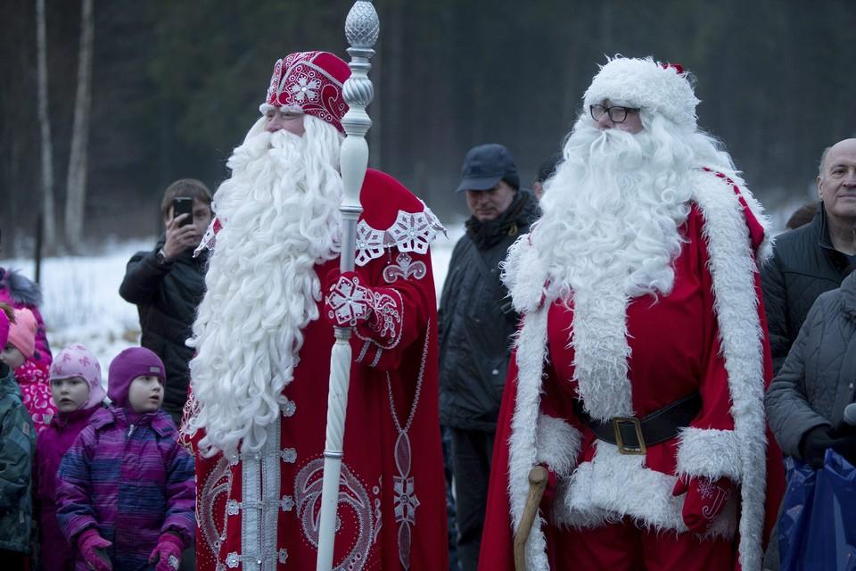 Украина раскололась на восток и запад из-за «Деда Мороза»