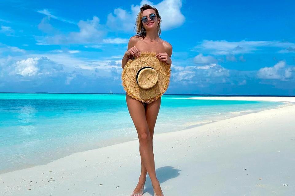 Полина Гагарина наслаждается отдыхом на Мальдивах