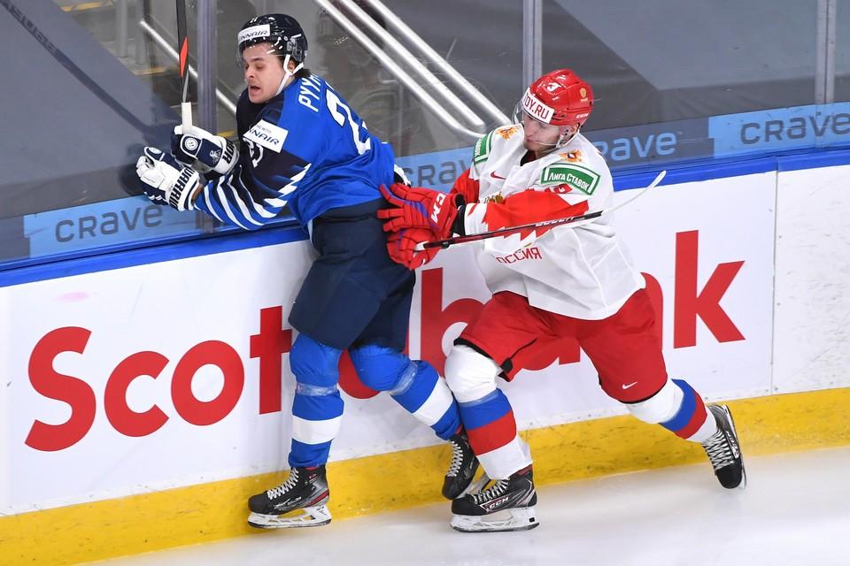 """Россия осталась с """"деревянной"""" медалью на чемпионате мира 2021 по хоккею в Канаде."""