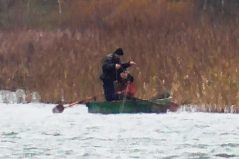 Браконьеров на озере Сенно сняли на видео. Сейчас они в тюрьме. Фото: СК РБ.
