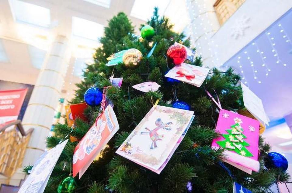 3000 юных кузбассовцев получили подарки благодаря акции «Рождество для всех и каждого». ФОТО: пресс-служба АПК