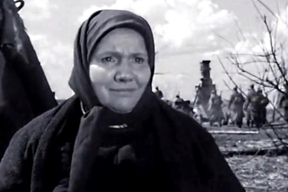 Нина Сазонова в фильме 1961 года «В трудный час»
