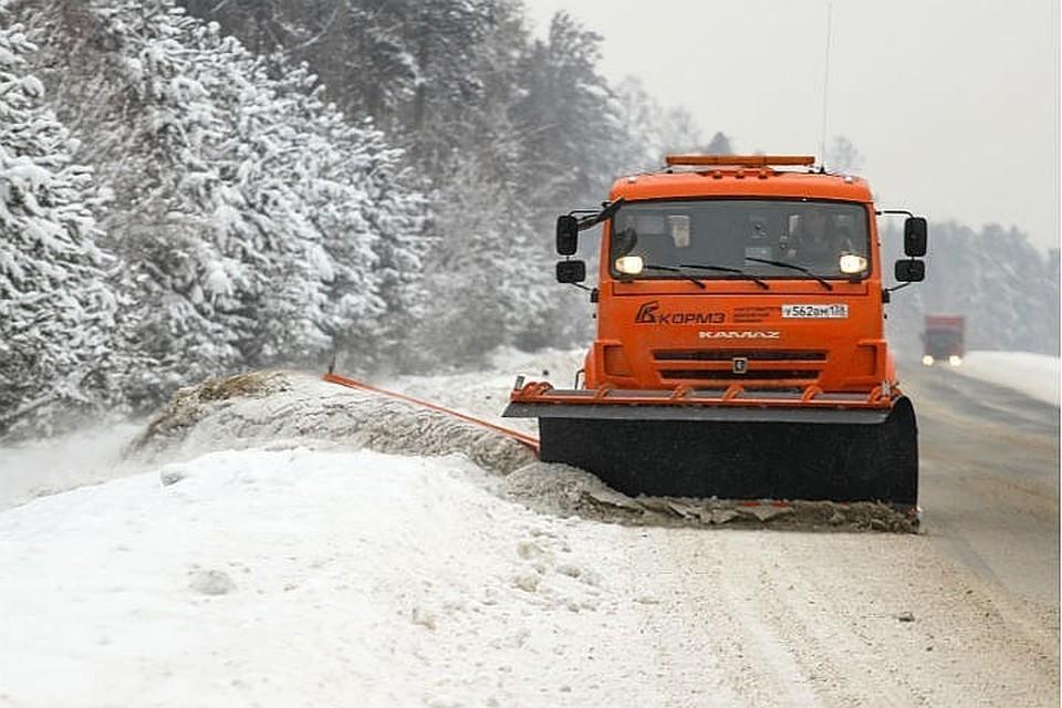 854 тонны снега вывезено с улиц Иркутска за сутки.