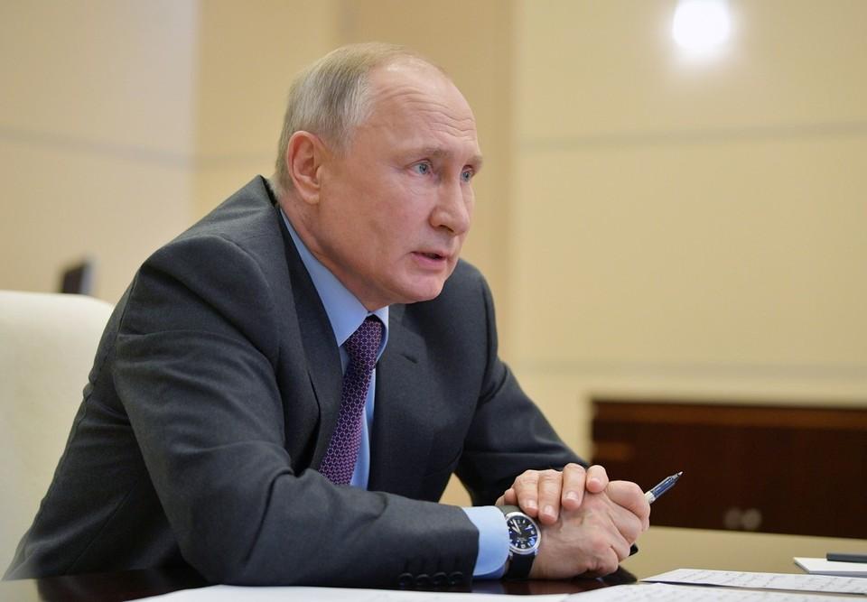 Путин выразил соболезнования в связи с авиакатастрофой самолета в Индонезии