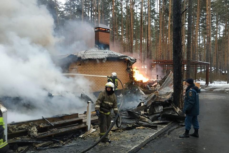 За 10 дней произошло 44 пожара