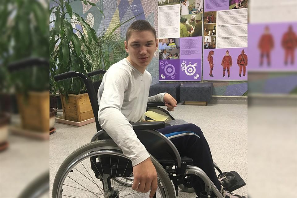 20-летний Александр Корнейчук мечтает приехать из златоглавой столицы в заполярную. Фото: vk.com/murman_help