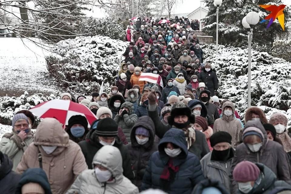 В Минске, Гродно и Бресте 9 января прошли локальные акции протеста
