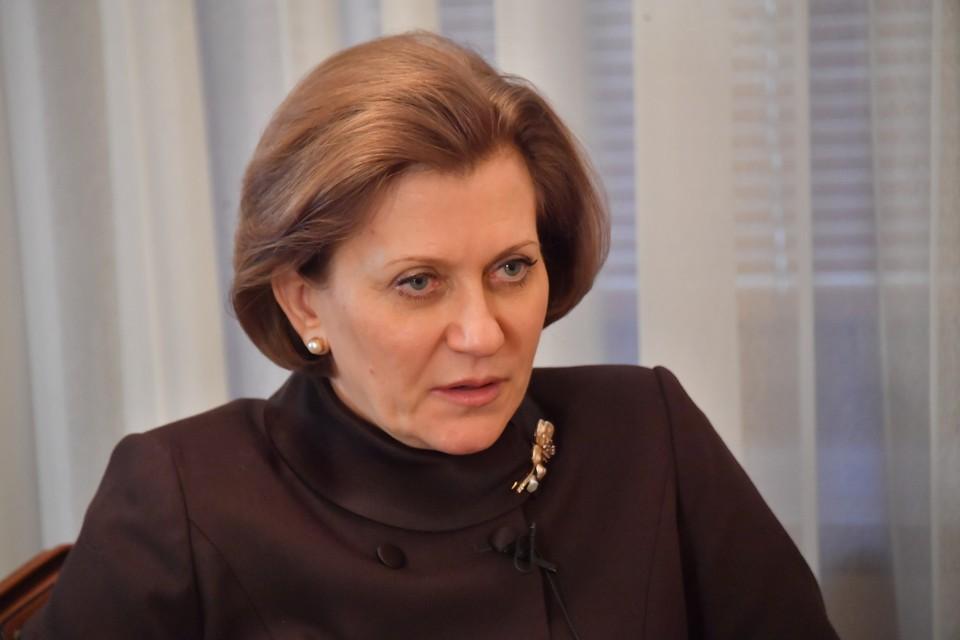 В России отмечено снижение на 16% числа госпитализированных пациентов с коронавирусом, сказала Попова.