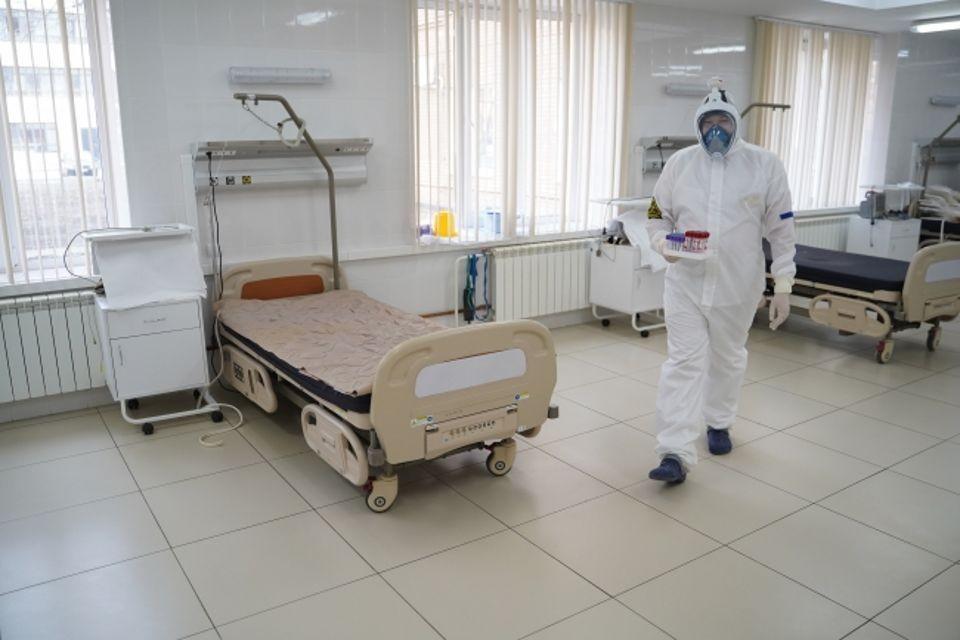 Общий коечный фонд региона для лечения COVID-19 составляет 1540 коек.