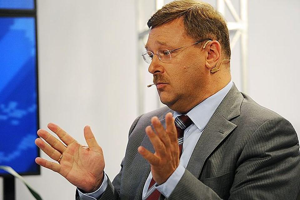 Глава международного комитета Совфеда Константин Косачев