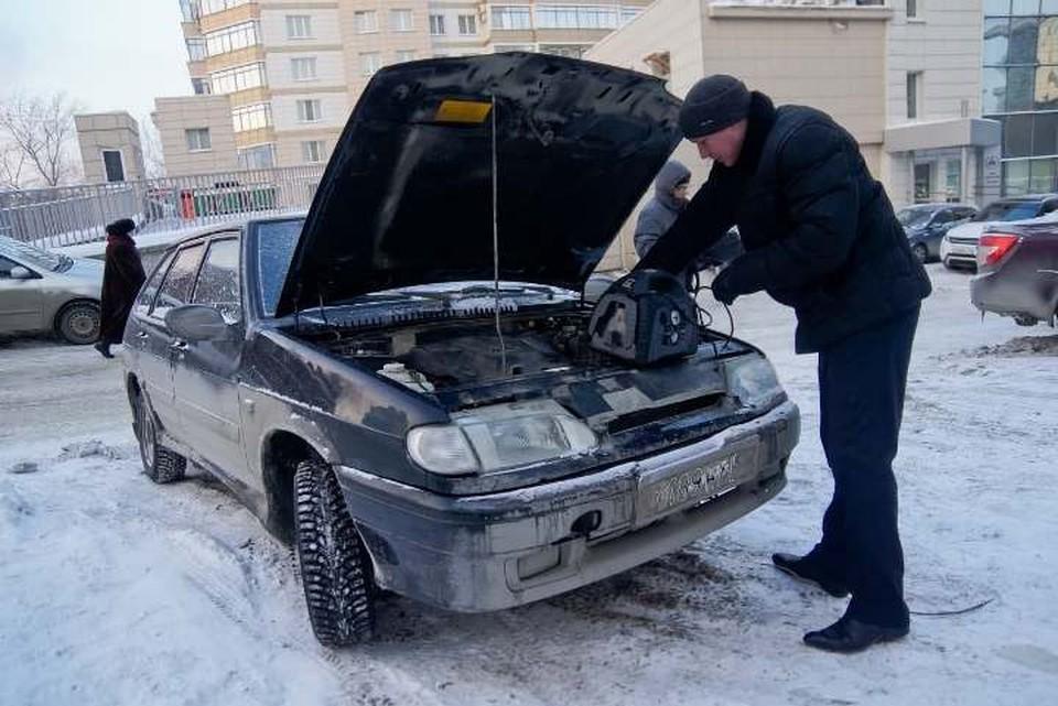 Исправный автомобиль с рабочим аккумулятором заводится без особых проблем и в мороз